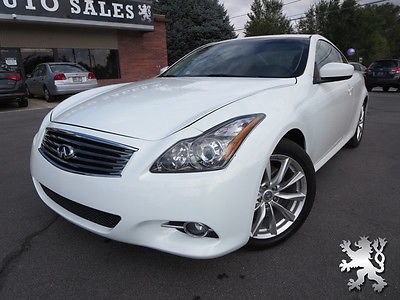 Infiniti : G LOW MILES, NAV, LEATHER, CLEAN!!! 2012 infiniti g 37 journey coupe back up leather heated seats