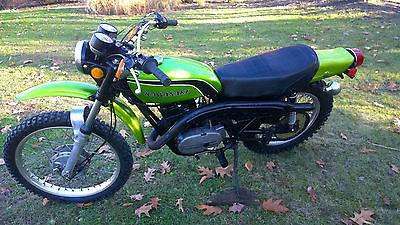 Kawasaki : Other 1974 kawasaki f 11 f 11 250 original enduro motorcycle good shape