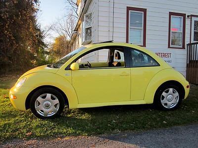 Volkswagen : Beetle-New GLS 2001 volkswagen new beetle gls 2.0