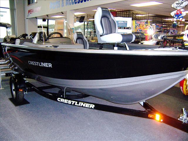 2015 Crestliner Top Quality Deep V 1650 Fish Hawk SC