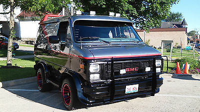 GMC Vandura 2500 1987 Gmc A Team Van Full Custom Shortened 4 Feet Show Truck