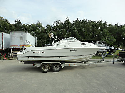 2002 Wellcraft 250 Coastal Offshore 25 ft Cuddy Cabin Fishing Boat (Hull ONLY)