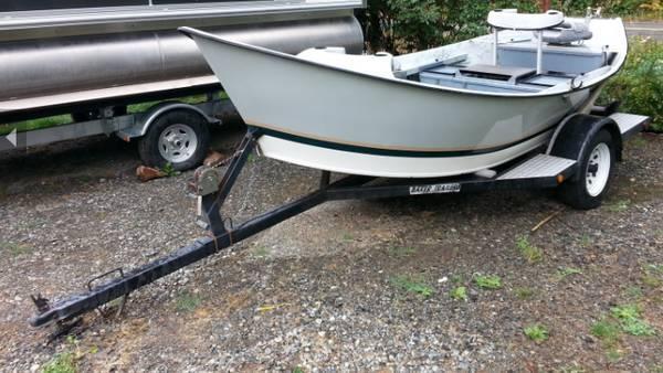Hyde Drift Boat 1996 15ft.