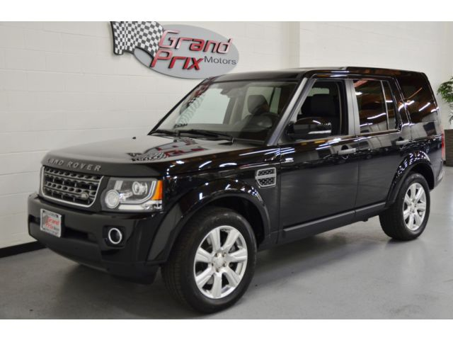 Land Rover : LR4 LR4 Land Rover LR4 HSE Sport Utility ONLY 490 Miles, 3rd Row, Nav, Warranty Like NEW
