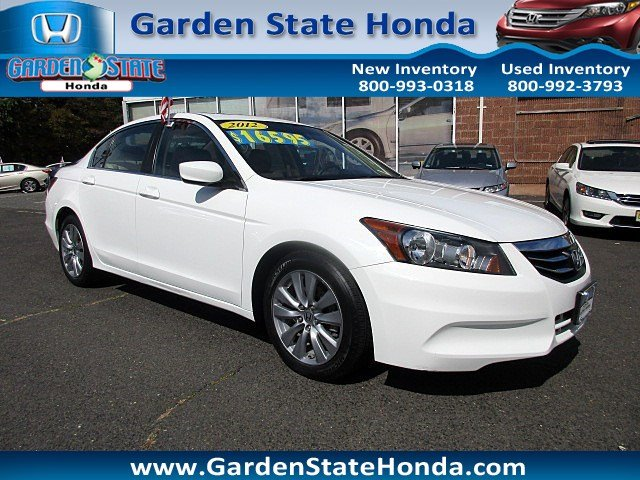 2012 honda accord white cars for sale for Honda passaic nj