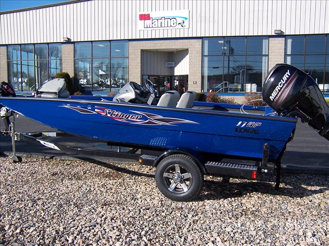 2013 Lowe Bass boat Stinger 17HP