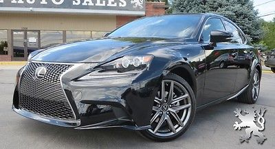 Lexus : IS F-Sport: LOW MILES!!! NAV, LEATHER, HEATED/COOLED, BACK-UP 2014 lexus is 250 f sport fully loaded low miles spotless