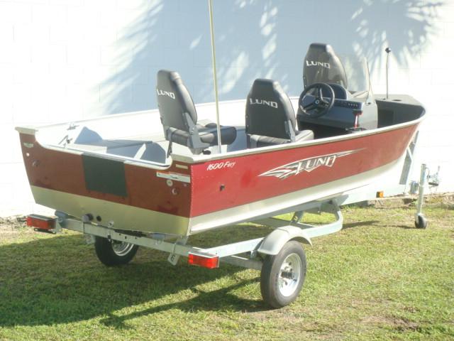 2015 Lund Fishing Boat 1600 Fury SS