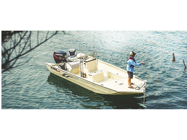 2015 Alumacraft Bay Series 2072 Bay Tunnel