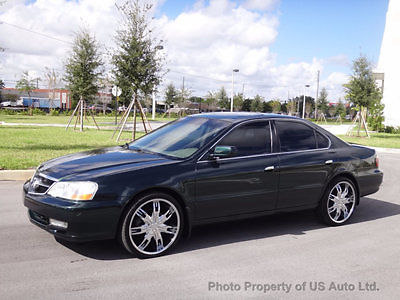 Acura : TL 4dr Sedan 3.2L Type S 2002 acura tl type s clean carfax 3.5 l v 6 auto sunroof leather fl car vtec sedan