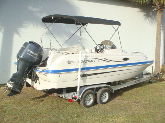 2015 Starcraft Deck boat Coastal 2009 OB