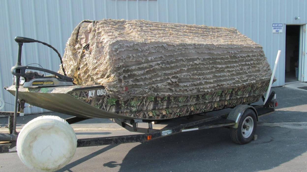 2003 Tracker 1654 Grizzly Camo Duck