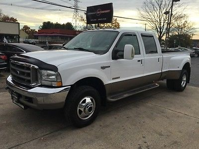 Ford : F-350 King Ranch 81 k low mile diesel free shipping warranty clean carfax king ranch 4 x 4 2 owner