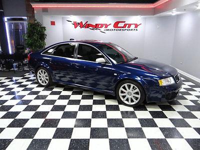 Audi : RS6 4dr Sedan 4.2L quattro AWD 2003 audi rs 6 bi turbo quattro awd carbon fiber pkg books serviced immaculate