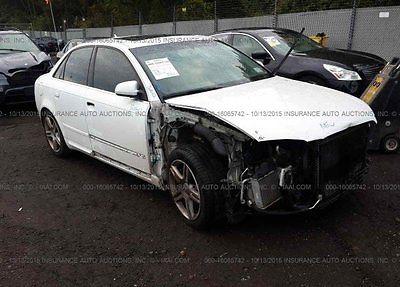Audi : A4 2.0T 2008 2.0 t used turbo 2 l i 4 16 v automatic awd sedan bose premium