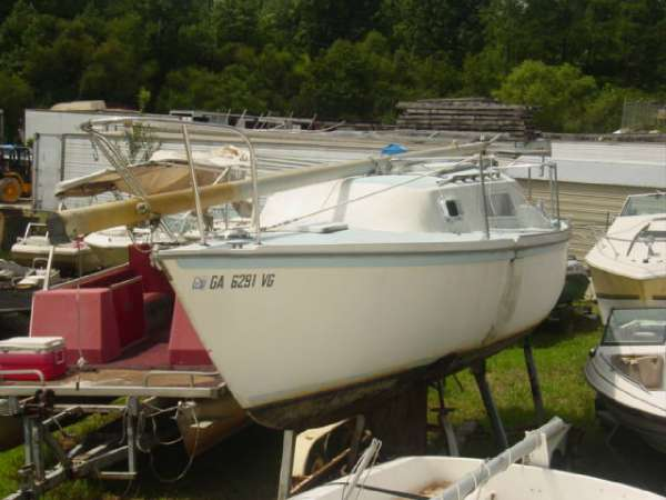 1977  Helms  24' Sailboat