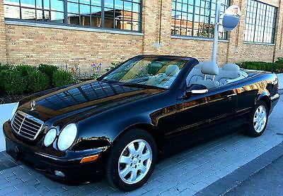 Mercedes-Benz : CLK-Class CLK 2000 mercedes benz 320 clk convertible only 84 k one owner very well kept