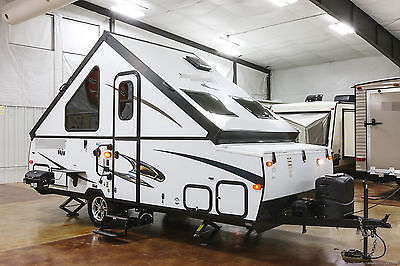 New 2016 T21QBHW A Frame Hard Side Lite Fold Down Pop Up Travel Trailer Not Used