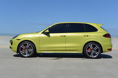 Porsche : Cayenne GTS 14 cayenne gts entry drive peridot 1 owner 21 turbo ii wheels not turbo s 2015