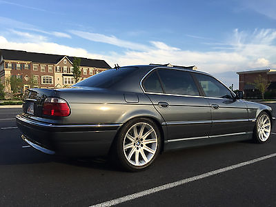 BMW 7 Series 740iL 2001 Bmw 740 Il 44 L V 8 Grey 77 K