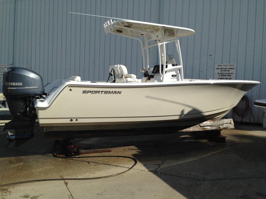 sportsman boats 232 open console center boat foot motor tampa fl