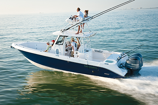 2015 EVERGLADES BOATS Offshore 325CC