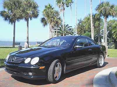 Mercedes-Benz : CL-Class AMG CL55 2002 mercedes benz cl 55 amg