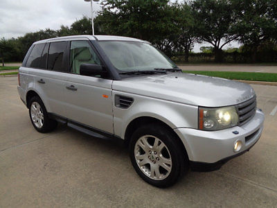 Land Rover : Range Rover Sport 4dr Wagon HSE 06 hse awd touch screen navigation fully loaded heated seats sunroof runs gr 8