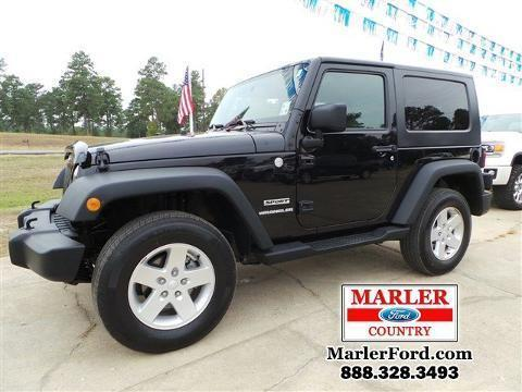 2010 JEEP WRANGLER 2 DOOR SUV