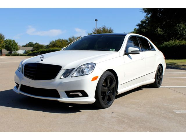 Mercedes-Benz : E-Class 4dr Sdn E350 SPORT MODEL P2 NAVIGATION, SUNROOF, BACKUP CAMERA, CLEAN CARFAX, SERVICED