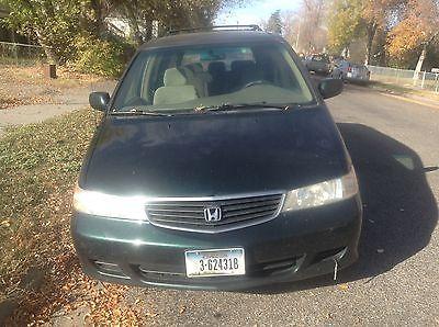 Honda : Odyssey EX 2001 honda odyssey ex mini passenger van 5 door 3.5 l clean title wrecked