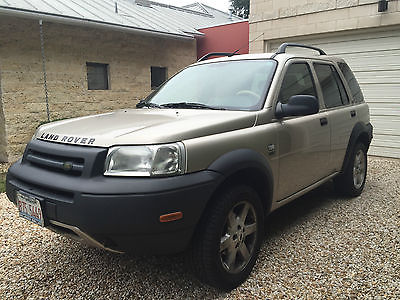 Land Rover : Freelander HSE Sport Utility 4-Door 2003 land rover freelander super clean less than 85 k miles new engine and trans