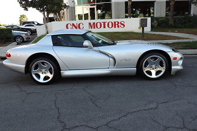 Dodge : Viper 2dr RT/10 Convertible 1999 dodge viper rt 10 convertible bright silver metallic only 17 000 miles