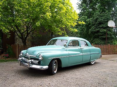 Mercury : Other 4 dr sedan 1951 mercury flat head v 8 reserve lowered