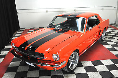 Ford : Mustang Hotrod WOW 65 Mustang hotrod with a 351 and a 4 speed FAST AND LOUD Nice! VIDEO
