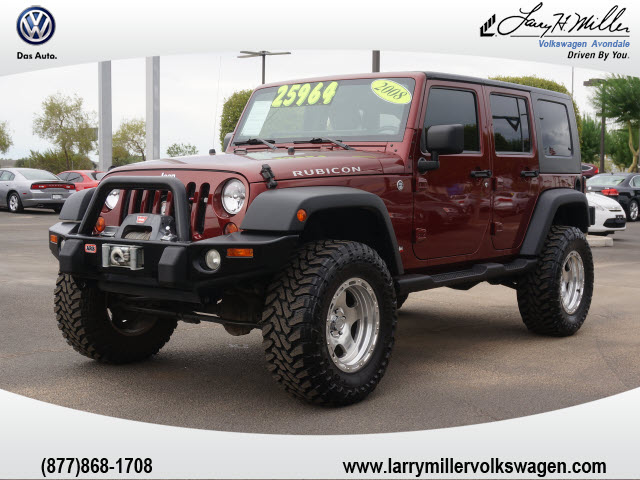 2008 jeep wrangler unlimited rubicon cars for sale. Black Bedroom Furniture Sets. Home Design Ideas
