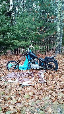 Custom Built Motorcycles : Chopper 1969 triumph tiger chopper needs total rebuild