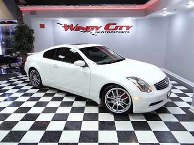Infiniti : G35 2dr Coupe Automatic 2005 infinity g 35 coupe sport aero pkg s moonroof stock adult owned clean