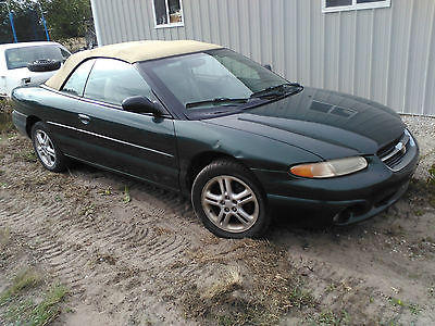 Chrysler : Sebring JX Convertible 2-Door 1997 chrysler sebring convertible does not run