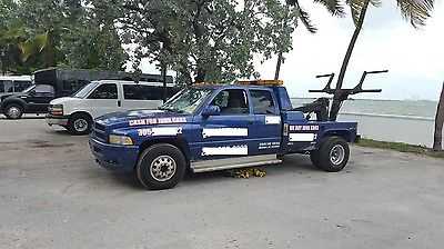 Dodge : Ram 3500 Base Extended Cab Pickup 2-Door Tow Truck 1997 Dodge Ram 3500elf Loader Wrecker  5.9L