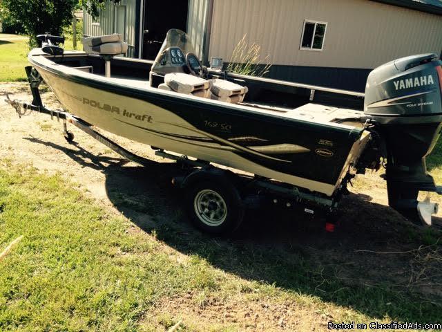 2004 Aluma Kraft 168 SC Aluminum Fishing Boat