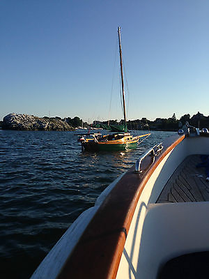 1974 Sail boat  Wood classic design hand crafted & one of kind