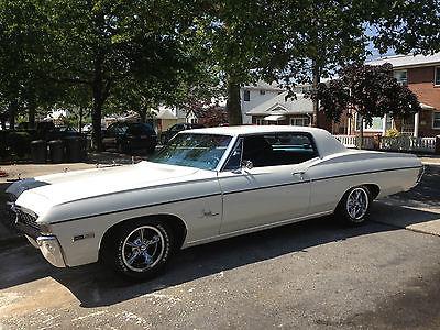 Chevrolet : Impala Custom Coupe 1968 impala custom coupe original