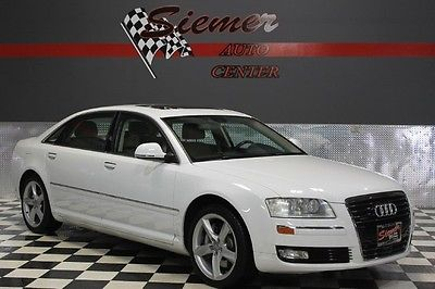 Audi : A8 4.2L white, black leather,