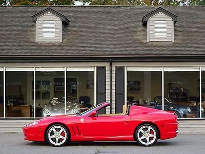 Ferrari : 575 575SA 2005 ferrari 575 superamerica f 1 9 050 miles