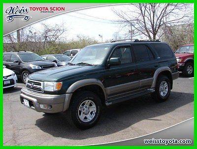 Toyota : 4Runner Limited V6 1999 limited v 6 used 3.4 l v 6 24 v automatic 4 wd suv moonroof