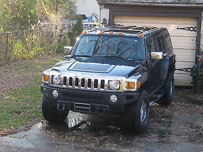 Hummer : H3 H3 Black Beauty HUMMER H3 SPECIAL EDITION LUX.Package-CHROME-LEATHER Balck Beauty