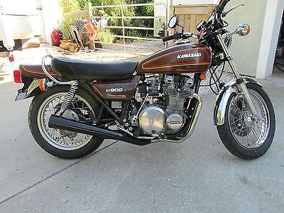 Kawasaki : Other 1976 kawasaki kz 900 z 1 f model low miles original paint super clean bike