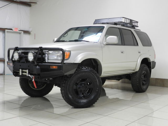 Toyota : 4Runner LIFTED 4X4 TOYOTA 4RUNNER SR5 4X4 LIFTED TOW ROOF BASKET WINCH BLK WHEELS BRAND NEW TIRES