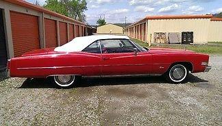 Cadillac : Eldorado Convertible 1974 cadillac eldorado convertible 500 ci v 8 original engine 71 701 miles